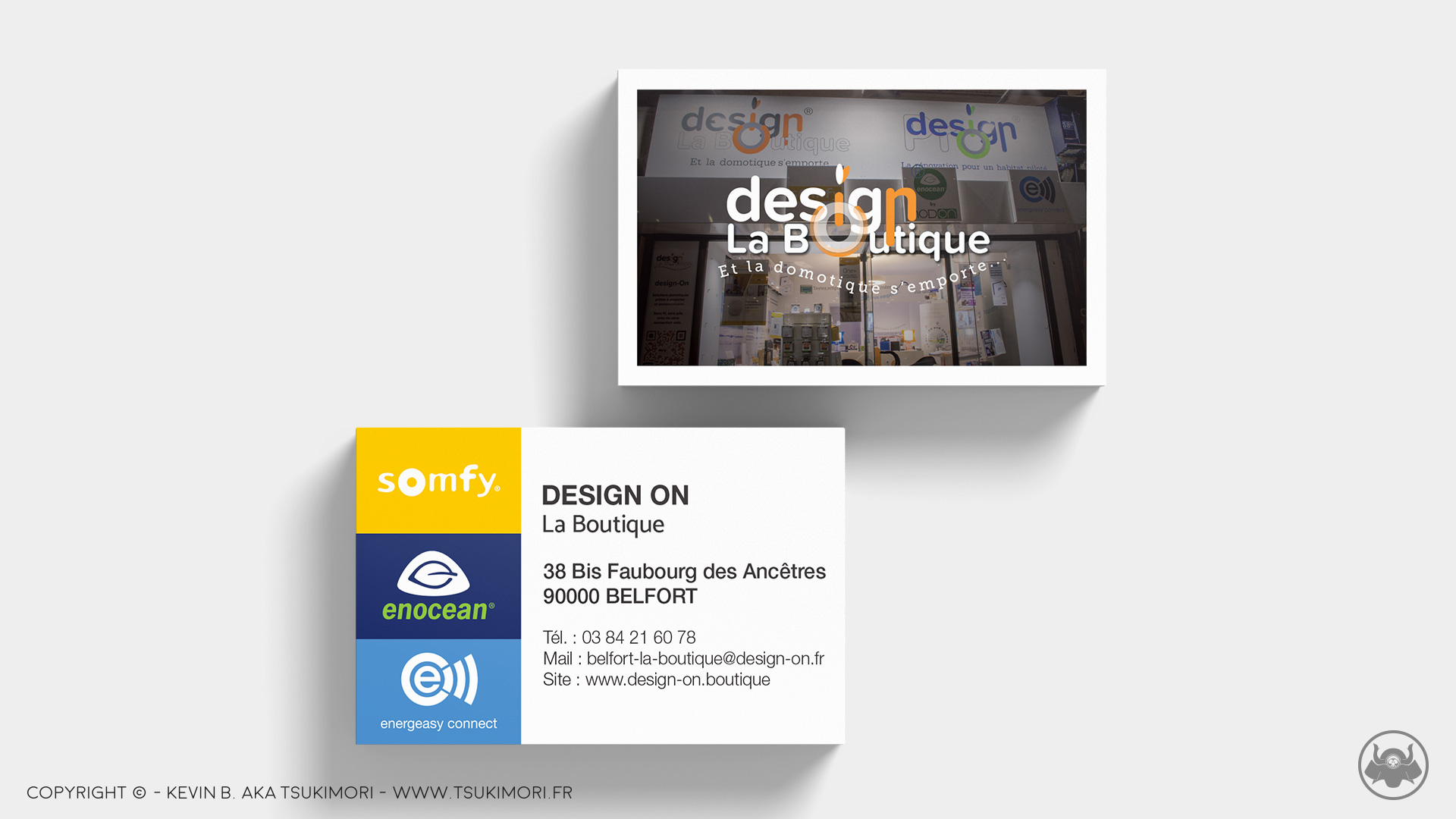 Business Cards - Design On - Featured