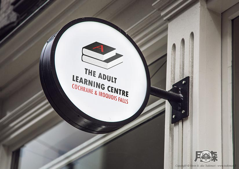 Logo - Identité - The Adult Learning Centre - Tsukimori / Kevin Barbier - Infographiste