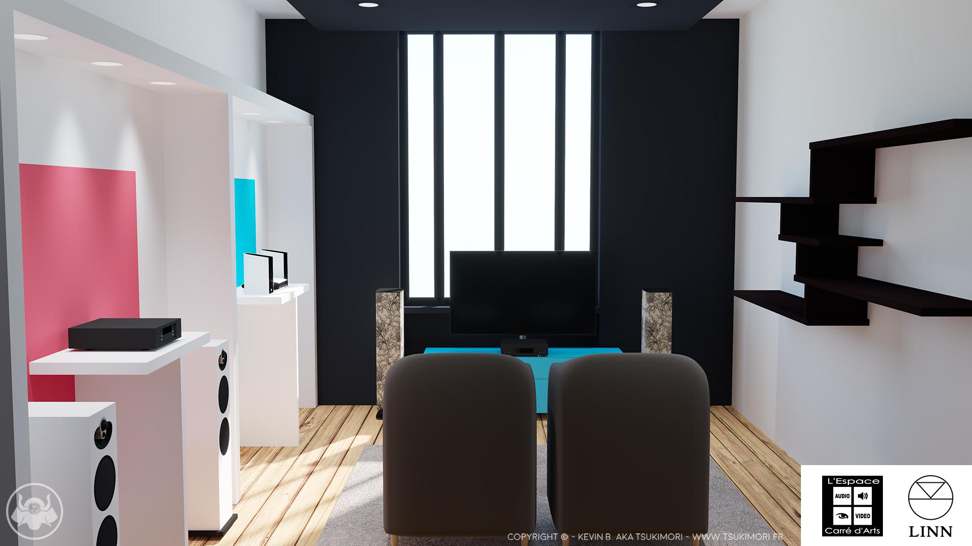Linn Room / Espace Linn - L'Espace Carré d'Arts
