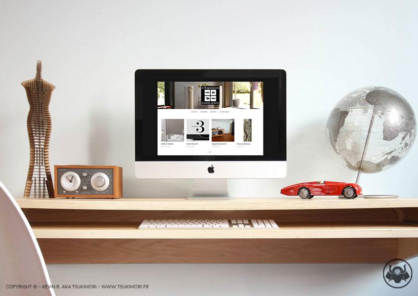 Blog - Site web - L'Espace Carré d'Arts - Tsukimori / Kevin Barbier - Infographiste