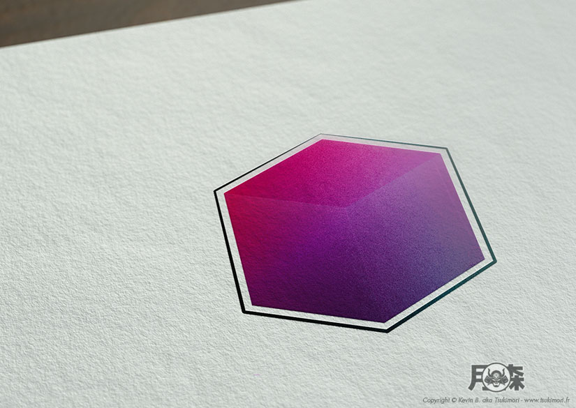 Logo - Identité - Kikaku Arts - Tsukimori / Kevin Barbier - Infographiste