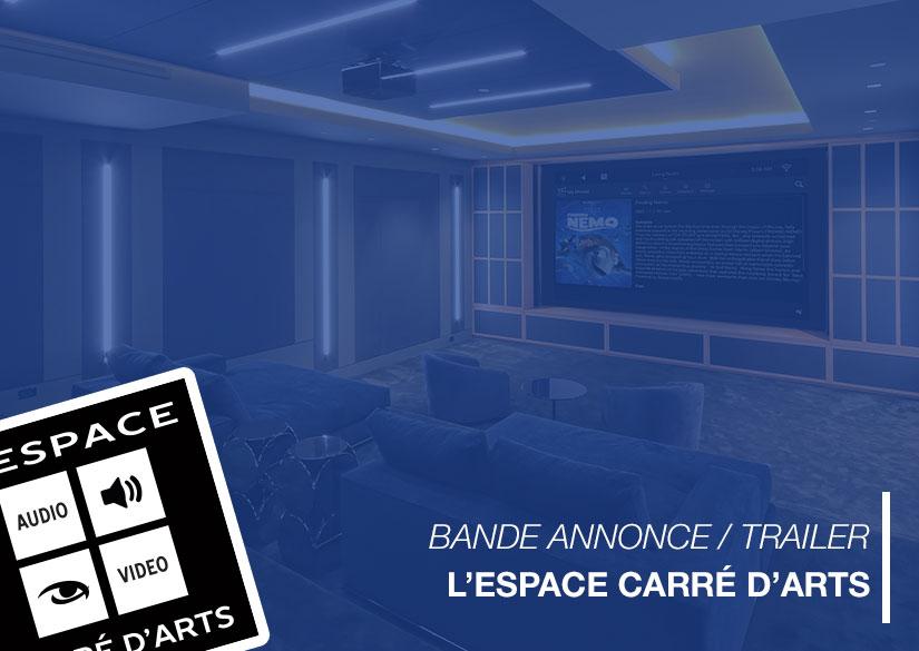 Vidéo annonce 2017 - Motion design / Montage vidéo - L'Espace Carré d'Arts - Tsukimori / Kevin Barbier - Infographiste